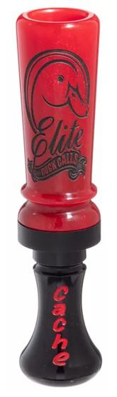 Elite Duck Calls Acrylic Cache - KC Red/Black