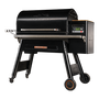 Traeger Timberline 1300 Pellets Grill front side