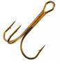 12/0 Bronze Treble Hook