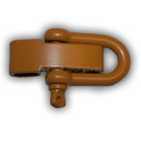 Adjustable D Shackle Yellow Color