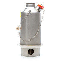 Stainless Steel Base Camp Large Kelly Kettle