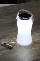 Collapsible Solar & USB Powered Waterproof Storage Lantern