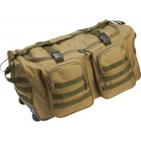 "Extreme Pak Water-Resistant 26"" Rolling Duffle - Green"