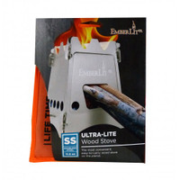 Emberlit Original Stainless Lightweight Backpacking Stove