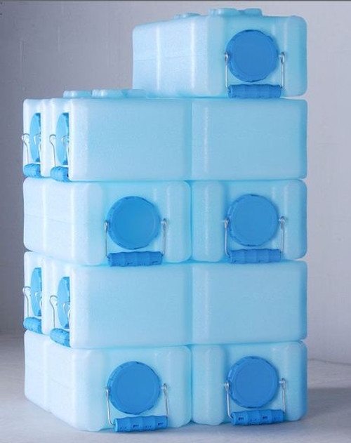 3.5 Gallon Water Brick - Blue