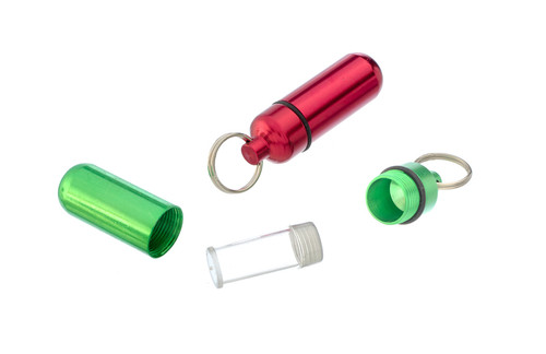 Aluminum Pill Case Small