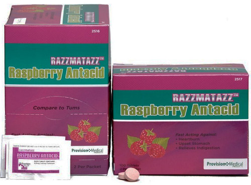 Antacid Tablets - Razzmatazz