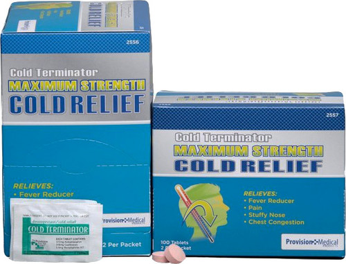 1000 Cold Terminator Max Tablets