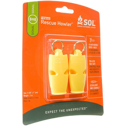 Howler Whistle 2 Pack - 122 Decible
