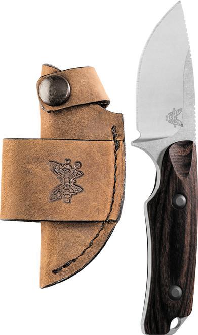 Benchmade Hunting 15016-2 Wood Hidden Canyon Hunter Knife