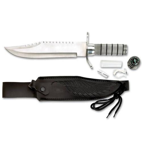 Maxam Survival Knife - Feather