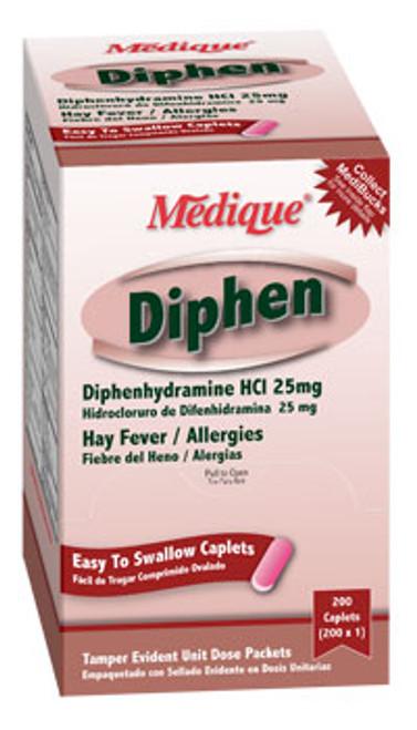 Diphenhydramine 200 Tablets