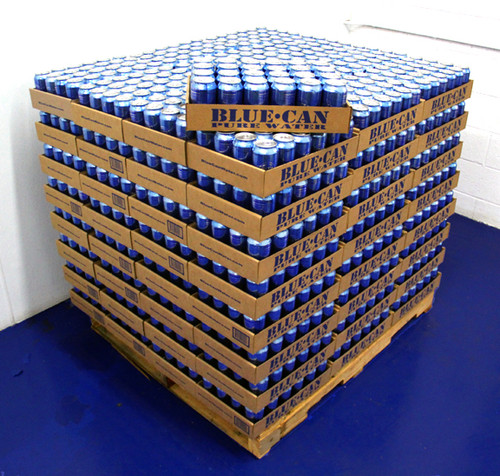 Case of 24 Cans of Blue Can Water