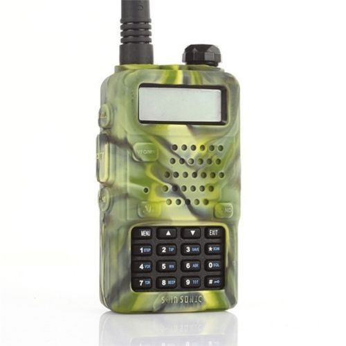 Baofeng UV-5R Rubber Camo Case
