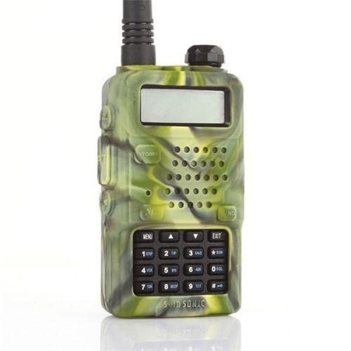 Baofeng UV-5R Rubber Camo Case