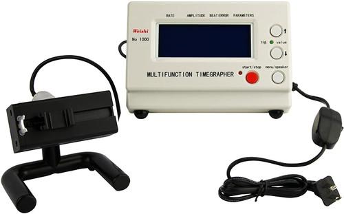 Weishi Timegrapher NO.1000 Watch Timing Machine Multifunction Tester Repair Tools (UK Plug and EU Plug)