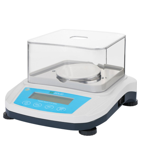 U.S. Solid 1mg Analytical Balance, 100g, 200g, 300g x 0.001g Digital Lab Precision Scale