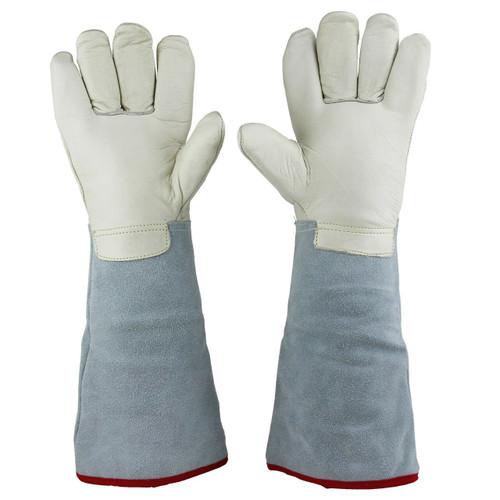 "45cm (17.7"") Long Cryogenic Gloves LN2 Liquid Nitrogen Protective Gloves"