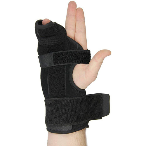 "Metacarpal Boxer Splint- Right Hand Brace, Medium (Dia. of palm < 4"")"