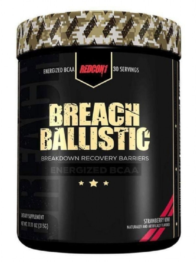 Redcon1 Breach Ballistic Energized BCAA 30 Servings - EU Formula