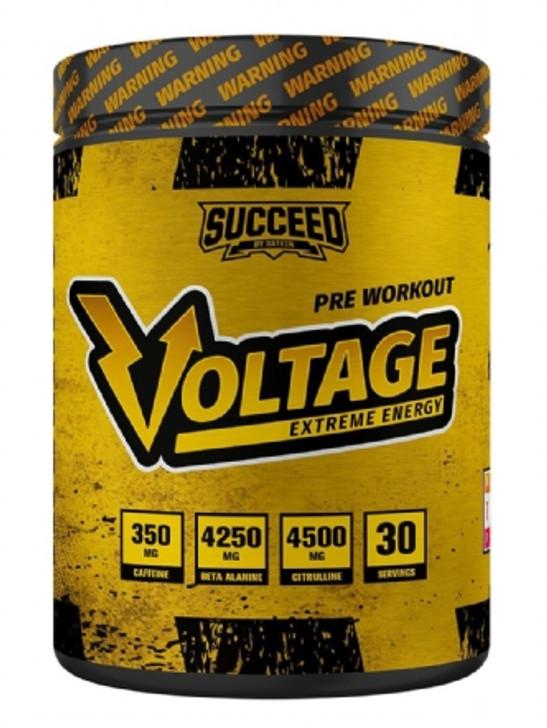 Succeed Voltage Pre Workout 510g - VERY STRONG