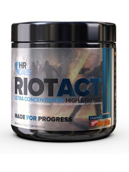 HR Labs Riot Act Pre Workout - 30 Servings