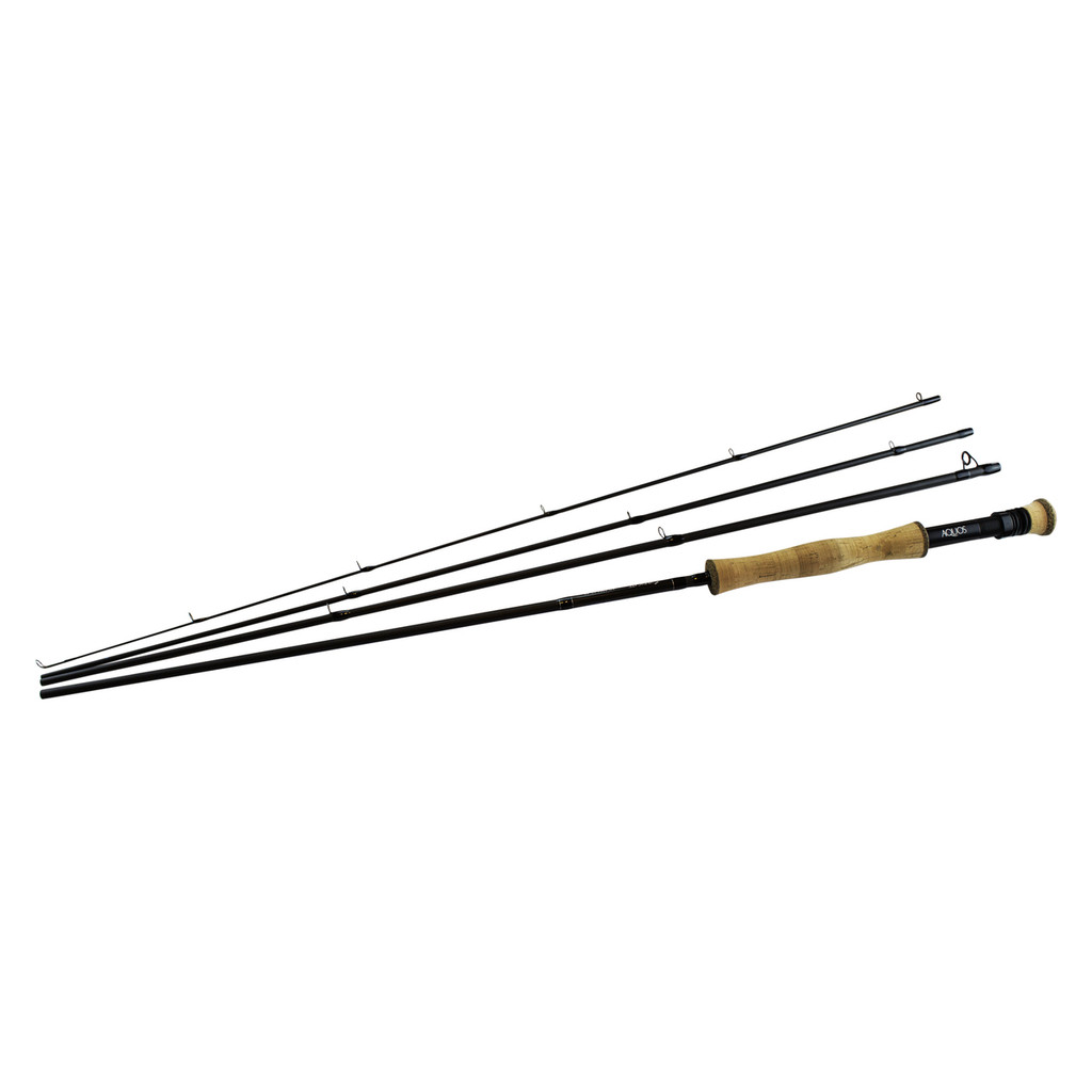 Syndicate AQUOS fly rod with all 4 sections
