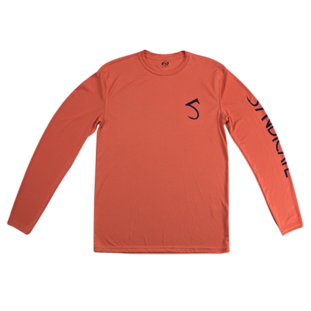 Dirty Nympher Salmon Solar Shirt