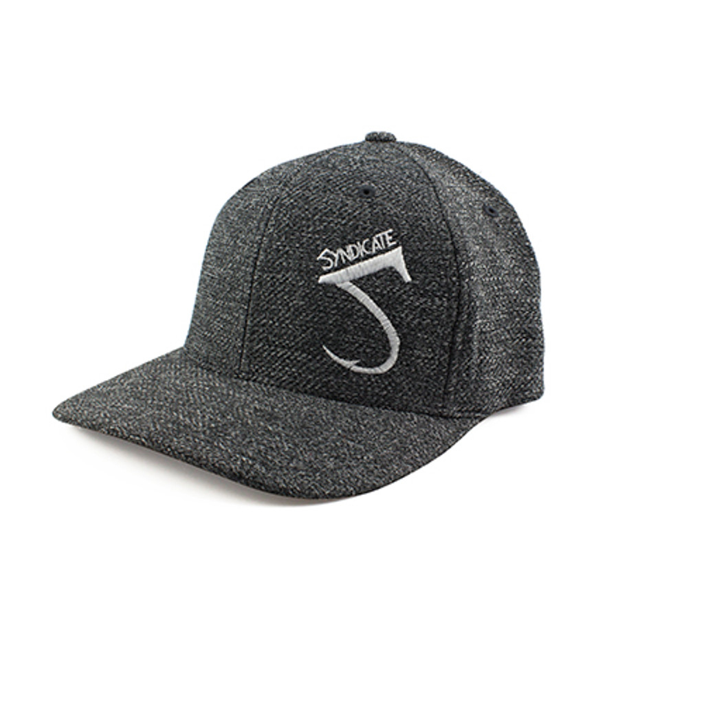 Syndicate Dark Heather Fitted Hat