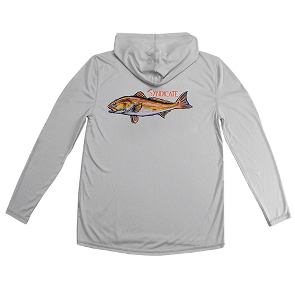 Redfish Gray Solar Hoody