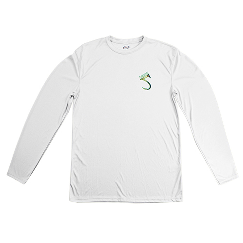 Trout White Solar Long Sleeve