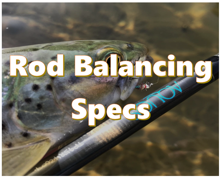 how to balance fly rod