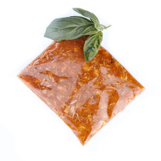 Pork, tomato & olive ragu