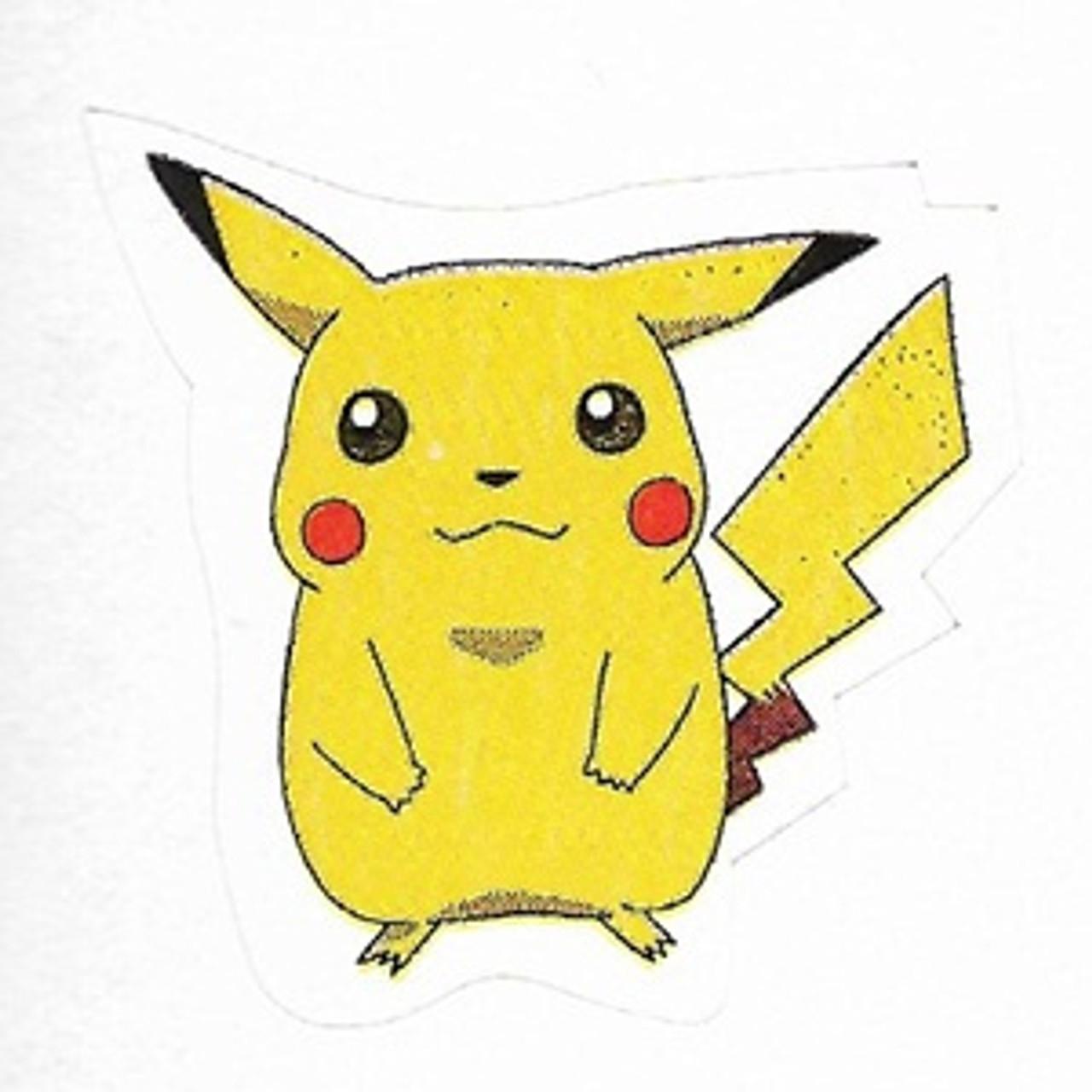 Pokemon Small Sticker Pikachu