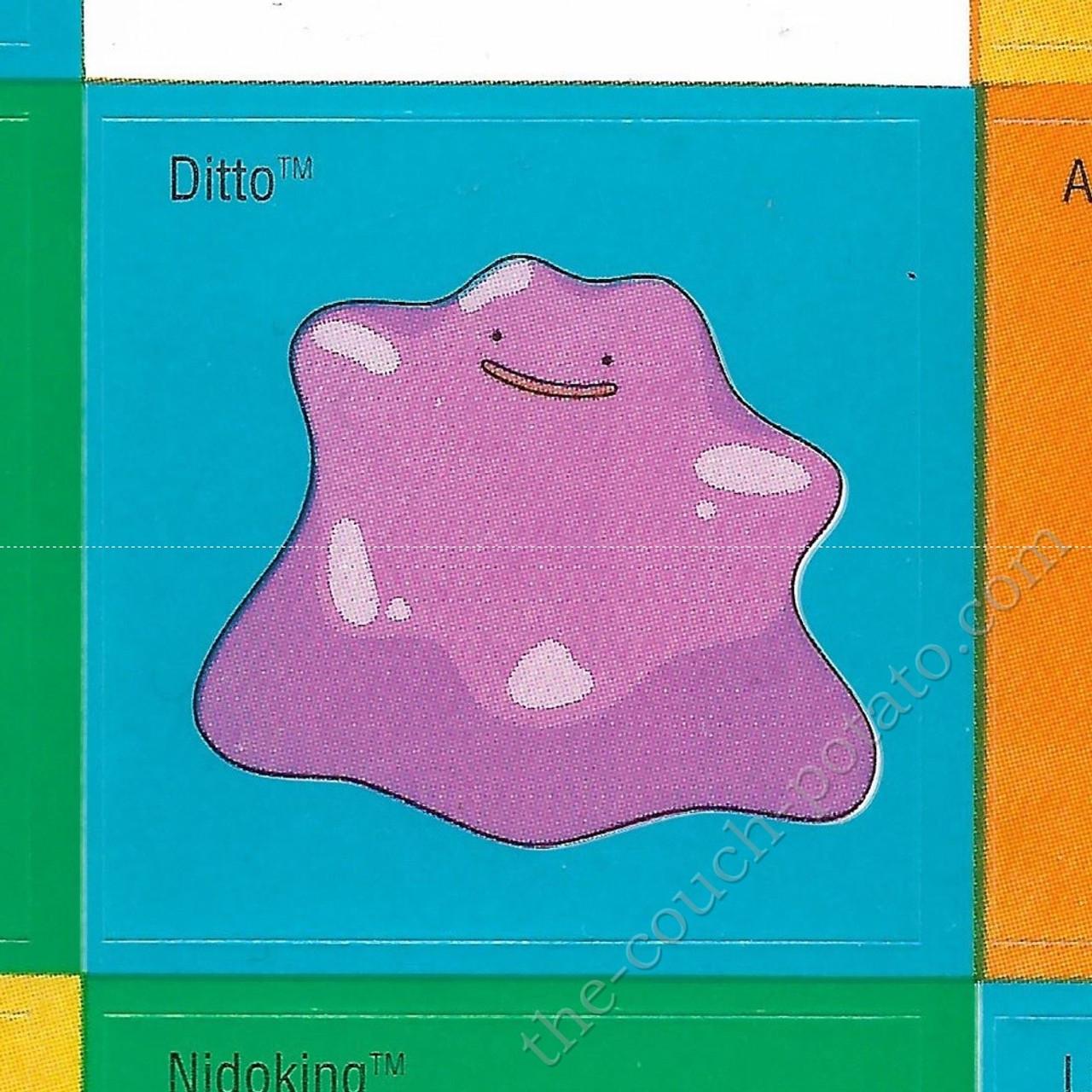 Pokemon Sticker Ditto