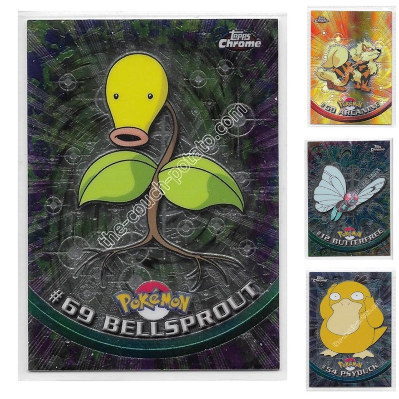 Pokemon Topps Chrome Series 1 Regular Cards Choose