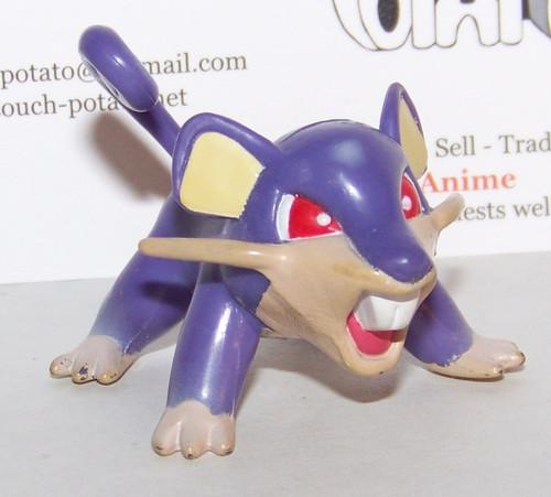 Pokemon Rattata Tomy Figure