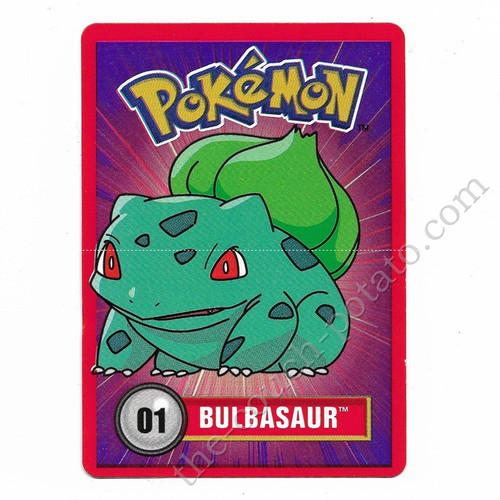 Pokemon Bulbasaur Card Nintendo 1998