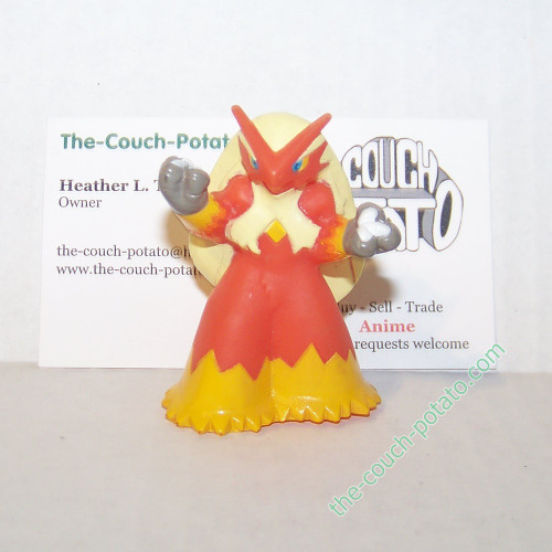 Pokemon Blaziken Kid Figure Bandai