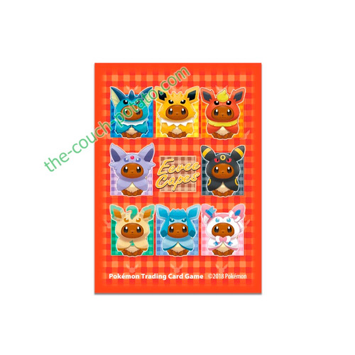 Pokemon Card Sleeves TCG Eevee Capes