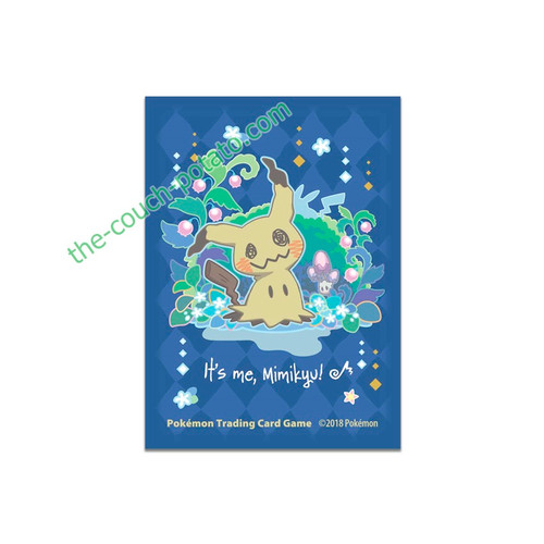 Pokemon Card Sleeves TCG It's me, Mimikyu!