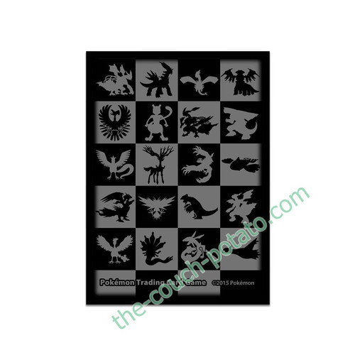 Pokemon Card Sleeves TCG Legendary Pokemon Pattern