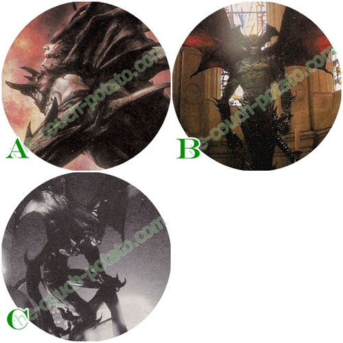 Devilman - Custom Buttons & Key Chains