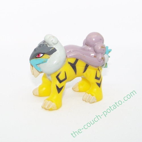 Pokemon Raikou Kid Figure Bandai