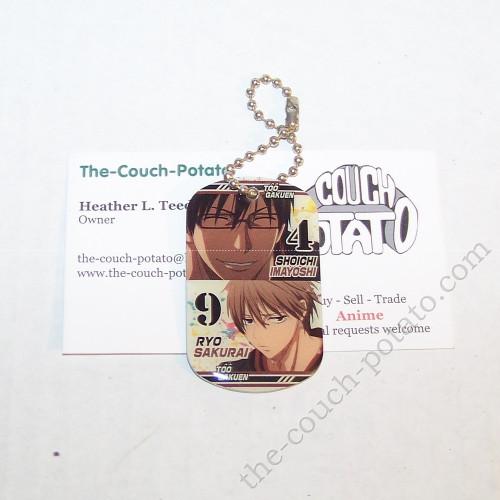 Kuroko's Basketball Imayoshi Sakurai Dogtag Charm Key Chain