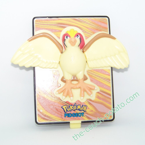 Pokemon Pidgeot Burger King meal toy 3D Action Card