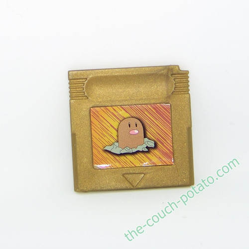 Pokemon Diglett Cartridge Burger King meal toy