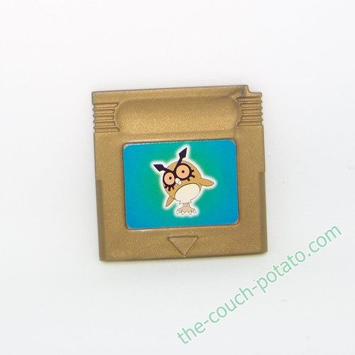 Pokemon Hoothoot Cartridge Burger King meal toy
