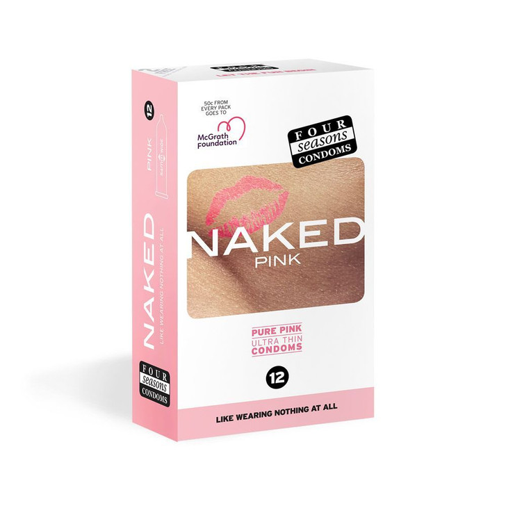 Four Seasons NAKED Pink Condoms
