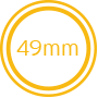 Norminal Width 49mm